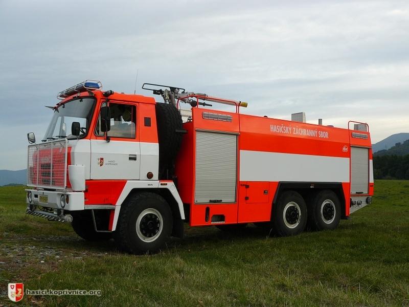 Cas 32 Tatra 815 6 6 Hasici Koprivnice