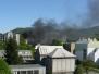 Požár odpadu - 7.5.2008