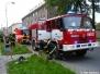 Požár sklepních prostor - 31.5.2008