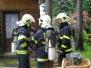 Požár roubenky - 4.6.2008
