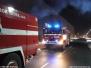 Požár v areálu firmy Brose - 8.1.2009