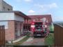 Požár střechy - 31. 7. 2009