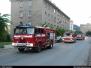 Požár - výšková budova - 17. 8. 2009