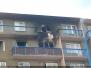 Požár bytu - 4. 2. 2010