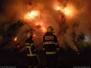 Požár slámy - 7. 3. 2010