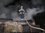 Požár chatky - 28. 10. 2010