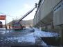 Odstraňování sněhových převisů - 23. 12. 2010