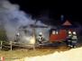 Požár chaty - Příbor, 4. 4. 2011