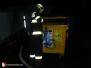 Požár kontejneru - 31. 12. 2011
