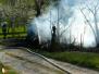 Požár chatky - 30. 4. 2012