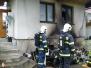Požár chaty - 22. 6. 2012