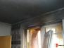 Požár  balkónu - 25. 6. 2012