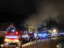 Požár stodoly a RD - 30. 10. 2012