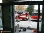 Požár na radnici, prověřovací cvičení - 16. 11. 2012