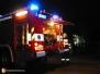 Požár pergoly - 3. 1. 2013