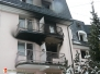 Požár DPS Příbor - 21. 1. 2013