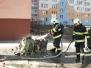 Požár kontejneru - 15. 4. 2013