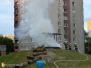 Požár přístřešku na dětském hřišti - 31. 7. 2013