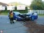 Dopravní nehoda a únik NL - 12. 8. 2013
