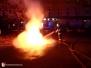 Požár kontejnerů - 30. 9. 2013