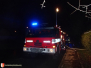 Požár chatky - 30. 11. 2013