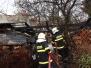 Požár zahradního přístřešku - 16. 2. 2014
