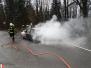 Požár auta - 23. 3. 2014