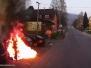 Požár automobilu - 2. 4. 2014