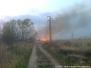 Požár trávy a skládky bioodpadu - 3. 4. 2014