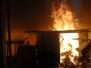 Výcvik jednotky v reálných podmínkách požáru - 29. 11. 2014