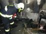 Požár DPS Česká - 6. 12. 2014