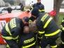 Záchrana chlapce z kontejneru na elektroodpad - 29. 3. 2015