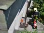 Požár balkonu - 9.7.2015