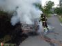 Požár automobilu - 21. 7. 2015