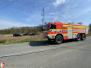 Požár trávy - 17. 4. 2020