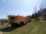 Požár trávy - 18. 4. 2020