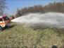 Požár trávy - 28. 3. 2020