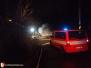 Požár unimobuňky - 11. 1. 2016