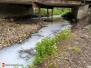 Únik neznámé látky do vodního toku - 4. 5. 2020
