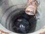 Záchrana kočky z kanalizace - 4.5.2016